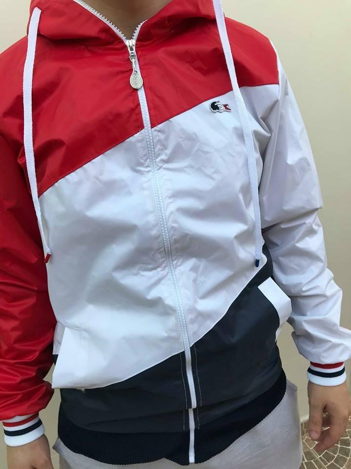 e50074a3858 jaqueta lacoste corta vento foto original pronta entrega. Carregando zoom.