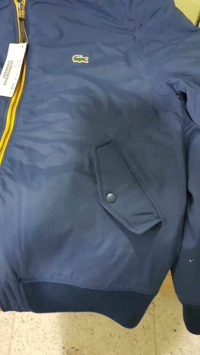 40d849e1ece46 jaqueta lacoste sport impermeável original. Carregando zoom.