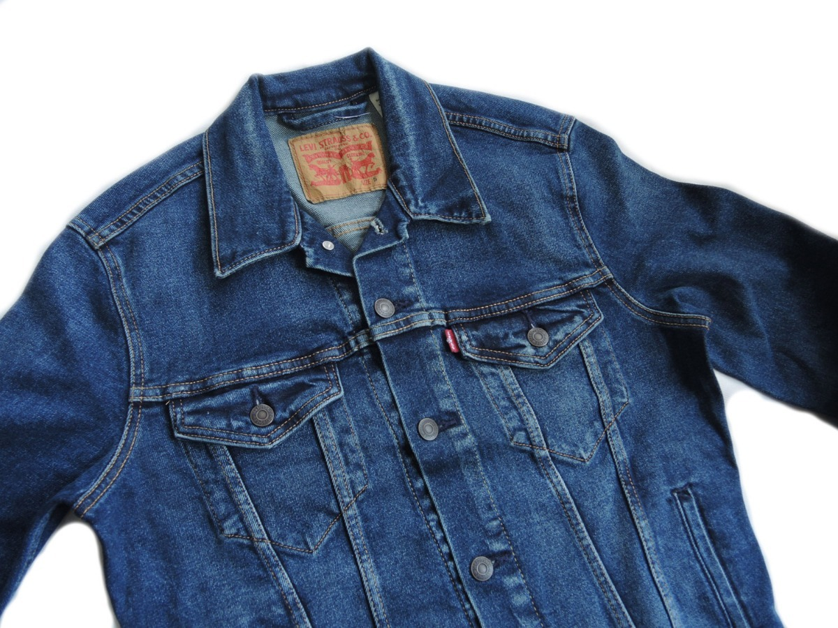 jaqueta levis jeans masculina the trucker original elastano. Carregando zoom . ff2e8cf8ca3