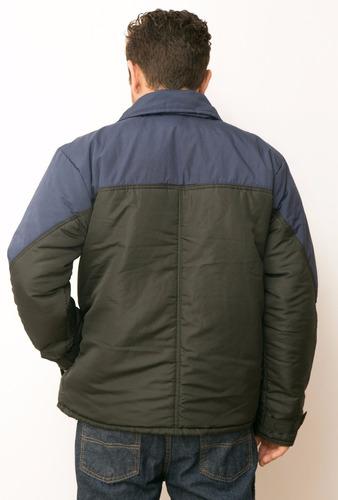jaqueta masc. 2 cores com manta térmica interna