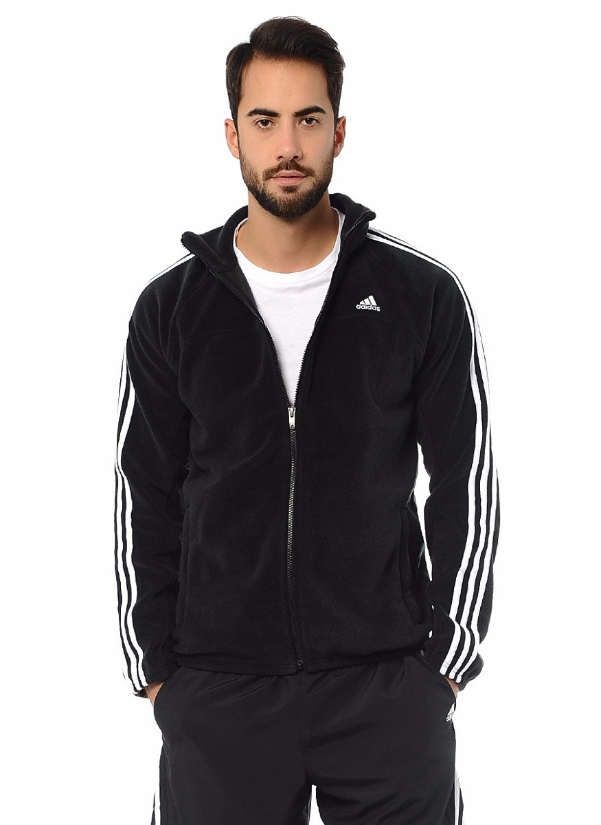 3409d84f5b5 jaqueta masculina adidas essentials 3s fleece x12196. Carregando zoom.