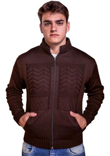 jaqueta masculina casaco masculino blaser trico malha grossa