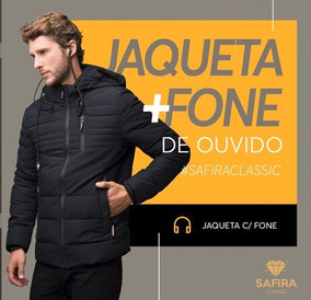 74ac4b062 Jaqueta Feminina Safira Fashion - Jaqueta no Mercado Livre Brasil