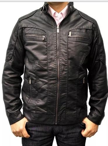 jaqueta masculina couro ecológico importada pronta entrega