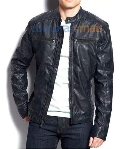 jaqueta masculina couro pu corta vento blazer casaco j11/j2