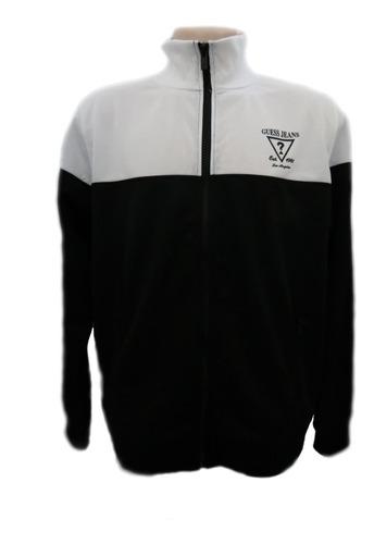 jaqueta masculina guess preto e branco original