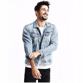 Jaqueta Masculina Jeans Super Promoção Pronta Entrega