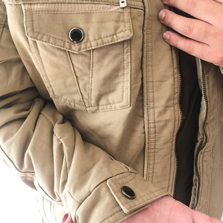 a2dd15c08 Jaqueta Masculina Militar Forrada Pronta Entrega 24h C Capuz - R ...
