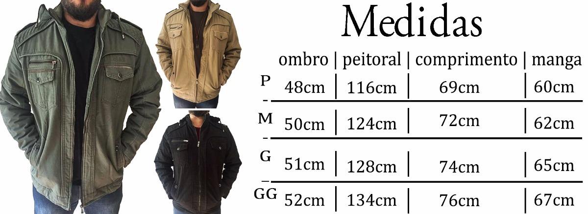 413d32539 jaqueta masculina militar forrada pronta entrega 24h c capuz. Carregando  zoom.