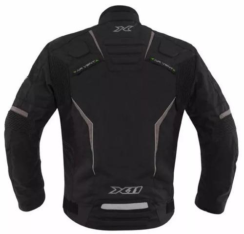 jaqueta masculina motoqueiro evo3 x11 100% impermeável moto