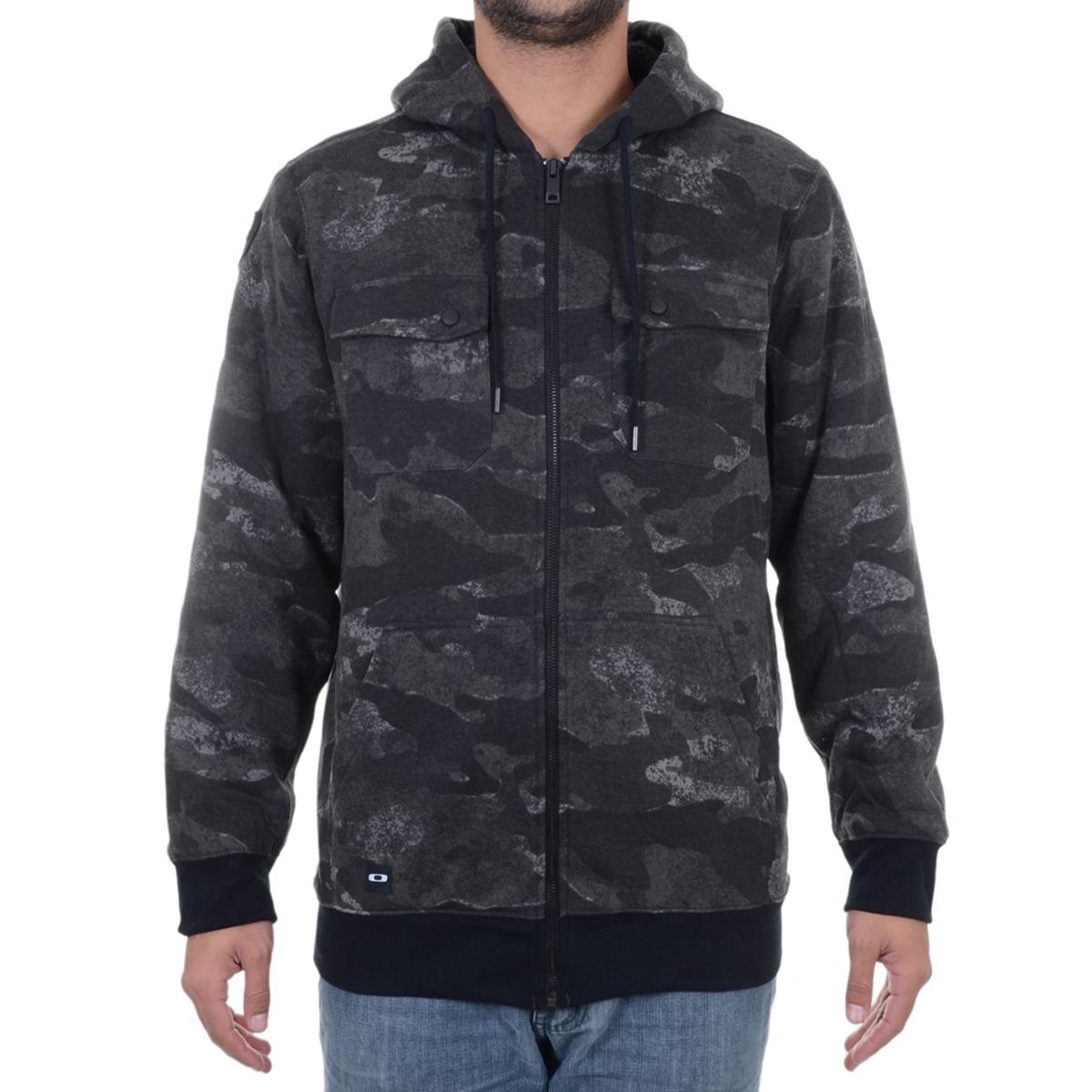 197b9c595c51c jaqueta masculina oakley agent hoodie. Carregando zoom.