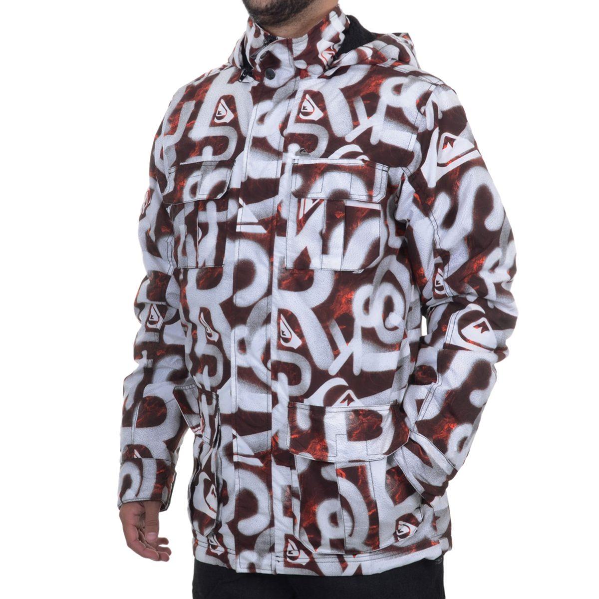 jaqueta masculina quiksilver spary art. Carregando zoom. c0e1e265656
