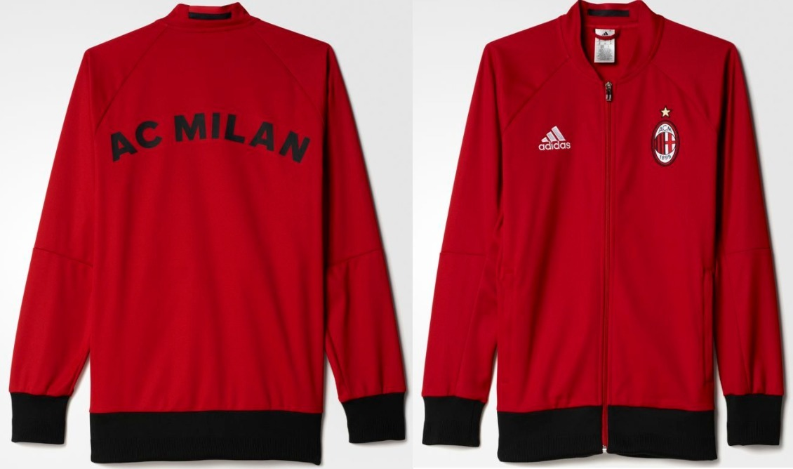 Jaqueta Milan Itália adidas Anthem Jacket - 100% Oficial - R  349 63c6c13d06bb1