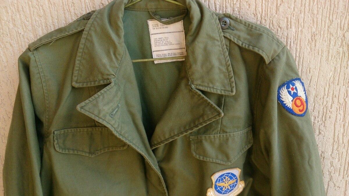 Jaqueta Militar Americana Feminina 1975   18r V1m - R  330 de0486e3d4048