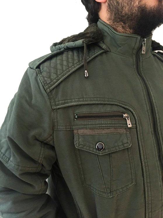 Resultado de imagem para blusão com bolsos grandes moda homem