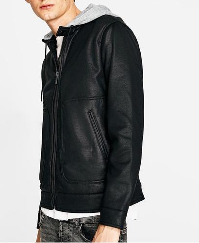 jaqueta moletom bomber com capuz casaco premium offert