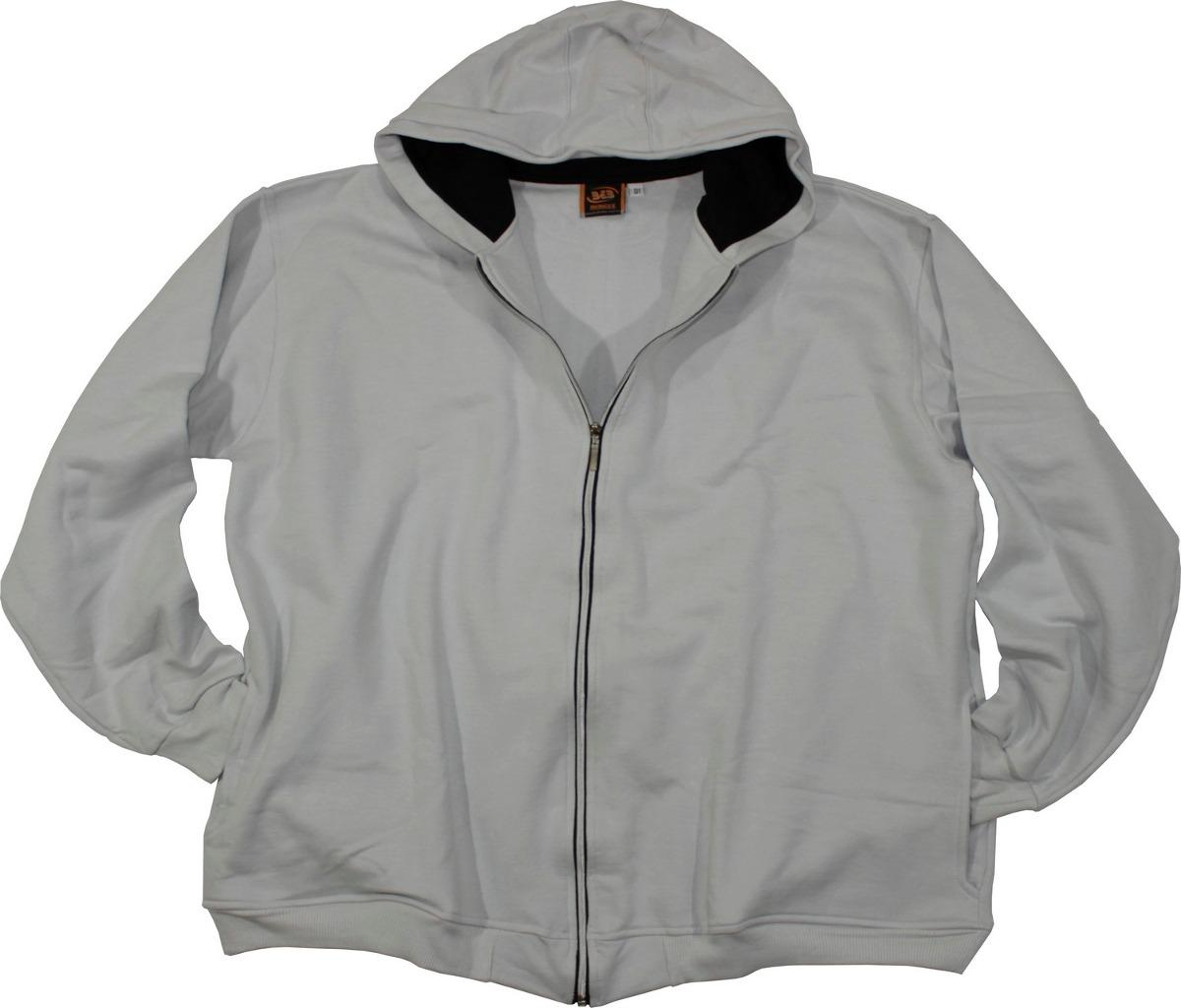 Jaqueta Moletom Plus Size - Extra Big - G6 Ao G8 - Ref. 1110 - R ... 7485efc8dc971