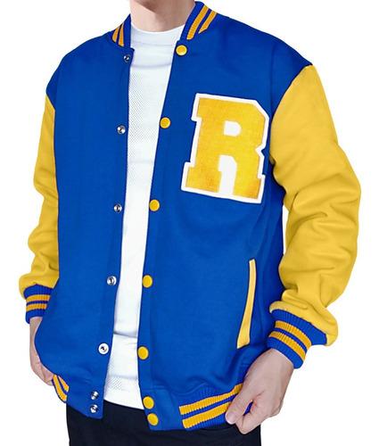 jaqueta moletom riverdale unissex college bordado blusa