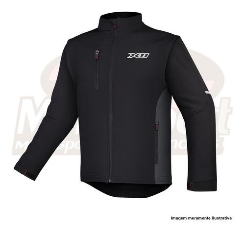 jaqueta moto x-11 neocity neoprene masculina manga removivel