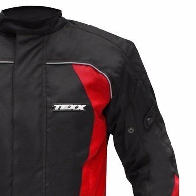 jaqueta motocilista texx strike impermeável