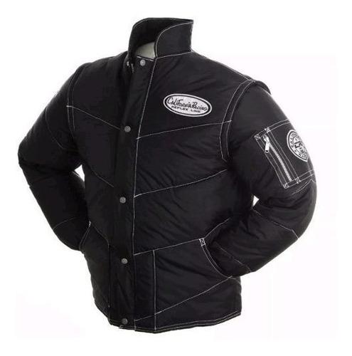 jaqueta motoqueiro california racing refletiva original