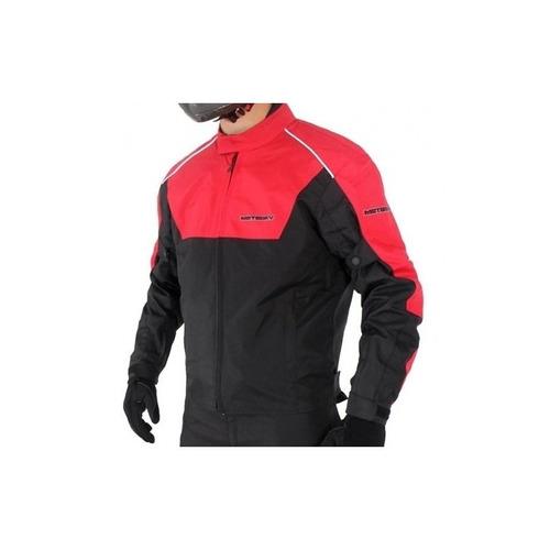 jaqueta motoqueiro moto impermeavel motosky vermelha frio