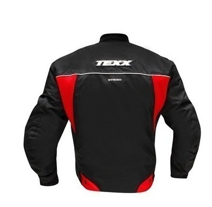 jaqueta motoqueiro texx strike impermeável p e 4xl