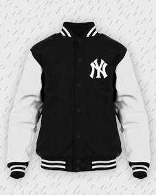 ba5cdc94375f5c Jaqueta New York Ny Moletom College Bordado Blusa Yankees