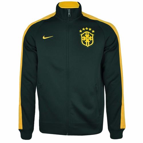 a918c68603 Jaqueta Nike Olimpíadas 16 Brasil Cbf Impermeável De 799 P - R 268 ... Jaqueta  Nike Brasil Cbf N98 2014 - Feminina - R 169