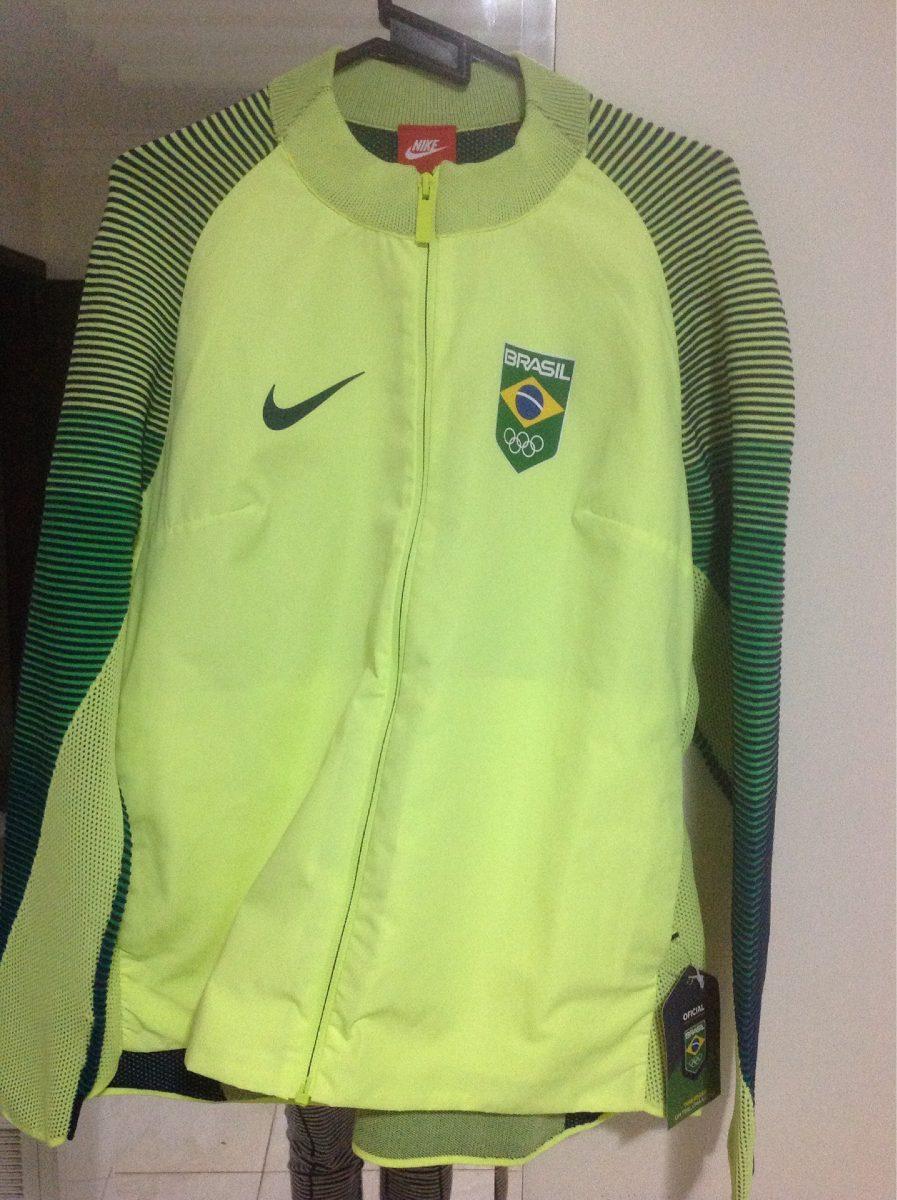 e1b5f63d00527 jaqueta nike brasil olimpiadas. Carregando zoom.