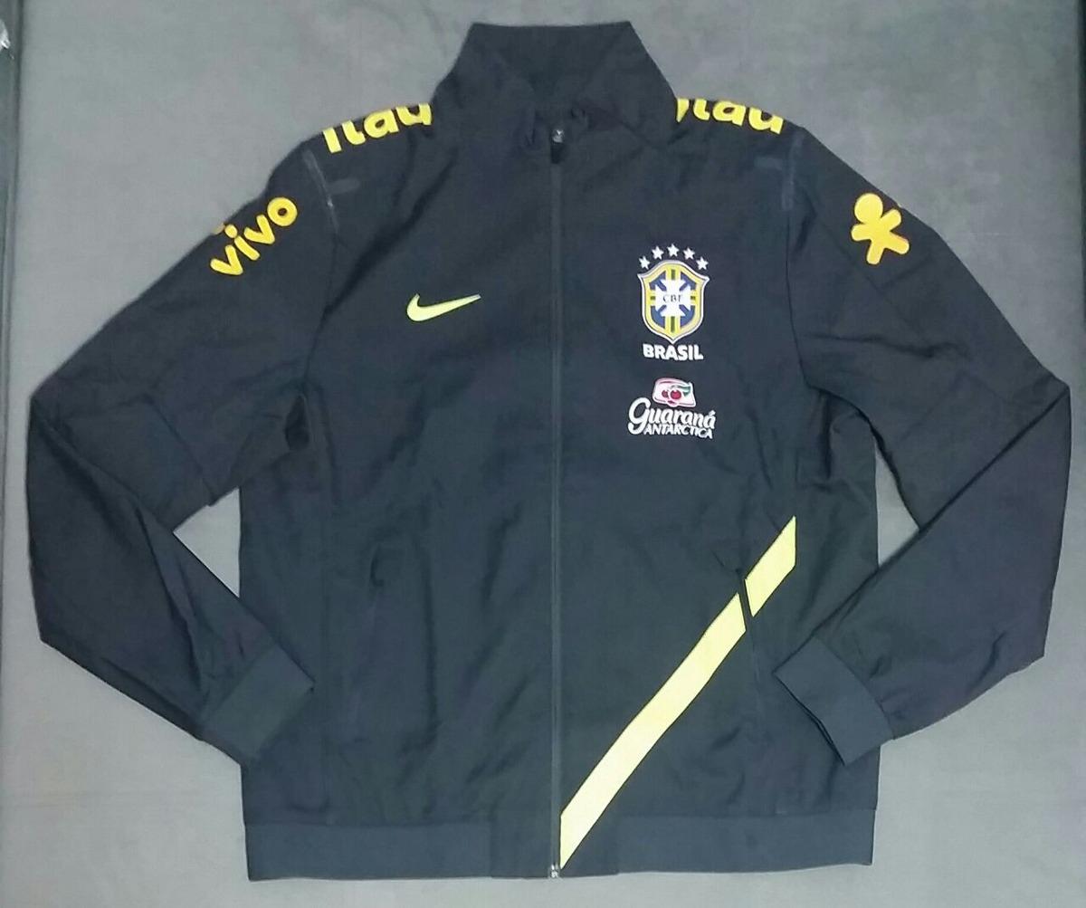jaqueta nike cbf seleção brasileira viagem treino 2012. Carregando zoom. 4d2aa27053424