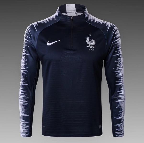7932caa62a Jaqueta Nike França Copa 2018 - R  159