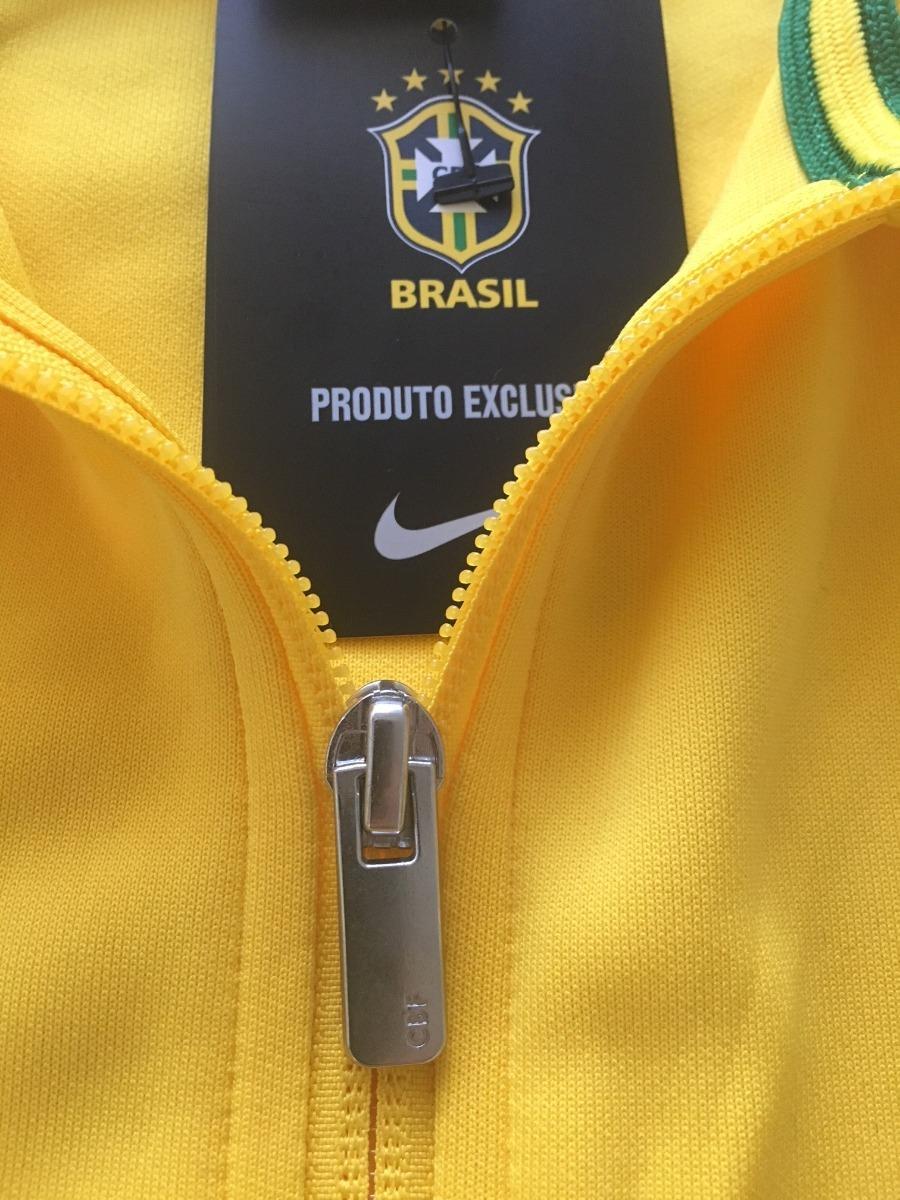 9a9e39c5dbf24 jaqueta nike n98 brasil cbf 2016 2018. Carregando zoom.