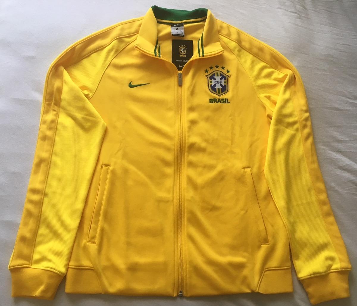 85113434cd82a jaqueta nike n98 brasil cbf 2016 2018. Carregando zoom.