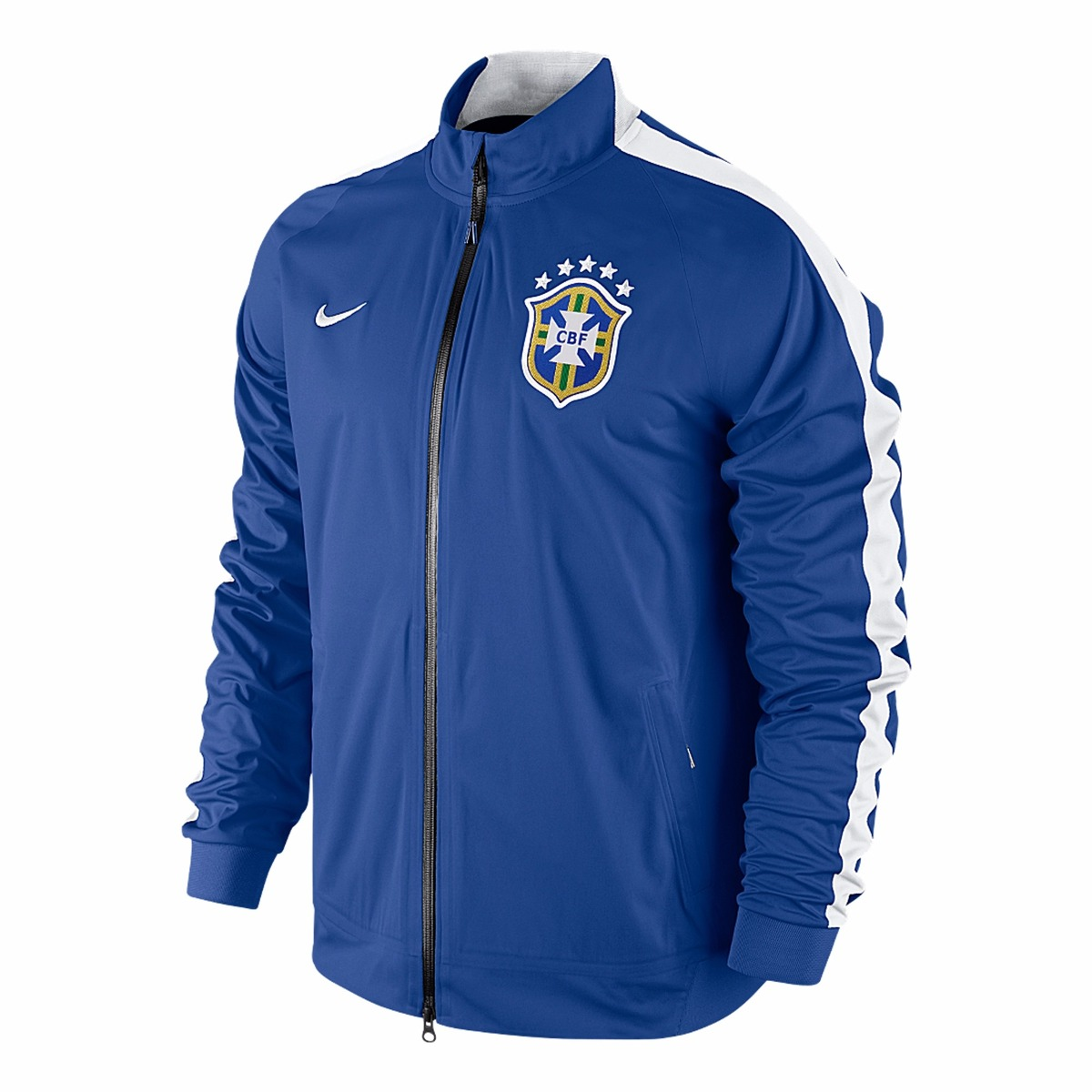 Jaqueta Nike Olimpíadas 16 Brasil Cbf Impermeável De 799 P  - R  268 ... 9cbb365c1a705