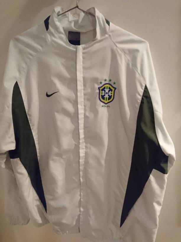 1e39be2edf762 jaqueta nike selecao brasil copa mundo copa 2002 cbf scolari. Carregando  zoom.