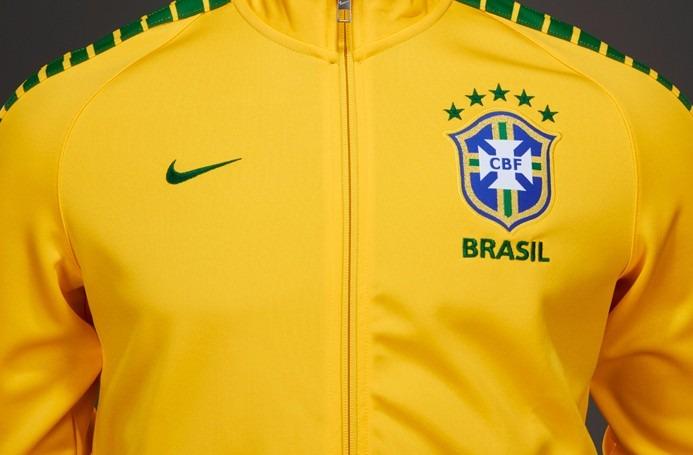af83e9284fde4 Jaqueta Nike Seleção Brasil Track N98 667019 De 289