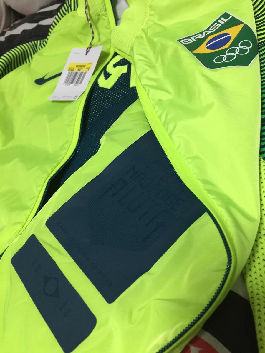 02f425939c00e jaqueta nike time brasil olimpíadas rio 2016 feminina. Carregando zoom.