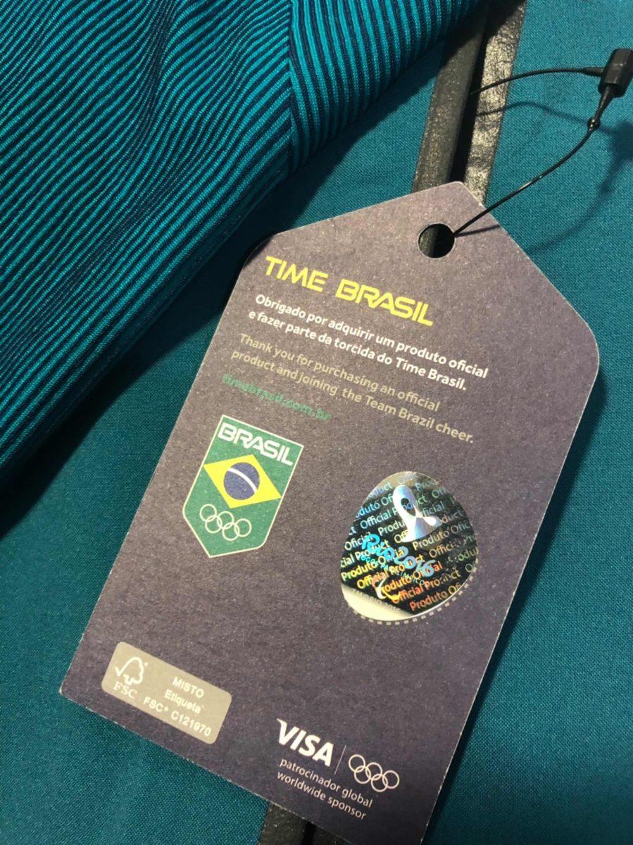 jaqueta nike - time brasil olimpíadas rio 2016- feminina l. Carregando zoom. 69c3d63967639