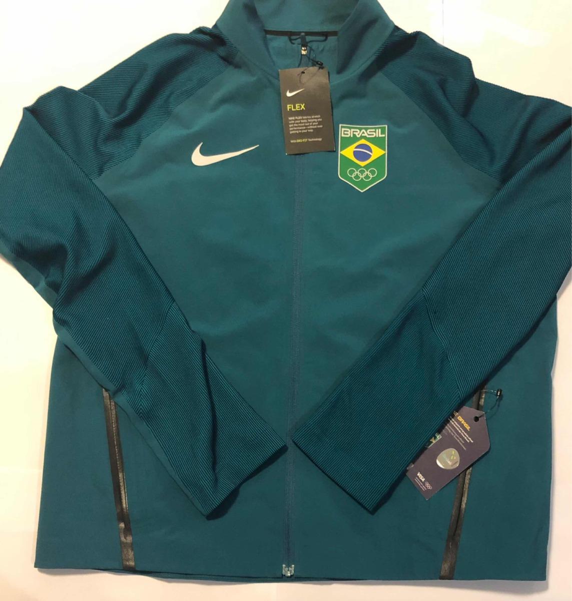 064b1230ce7b2 Jaqueta Nike - Time Brasil Olimpíadas Rio 2016- Feminina L - R  399 ...