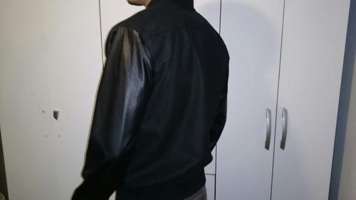 jaqueta ny preta xl