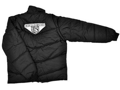 jaqueta nylon preta refletiva cachorro locco grande