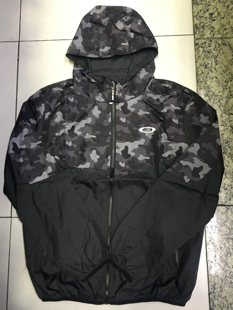 117781e86 jaqueta oakley para frio com capuz corta vento homem blusa ! Carregando  zoom.