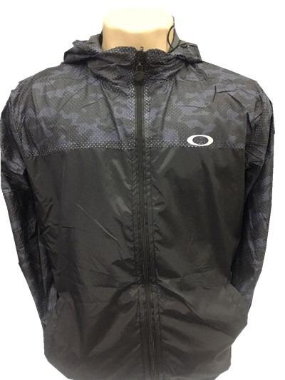 a2dd87fd0 Jaqueta Oakley Para O Frio Com Capuz Corta Vento Homem Blusa - R ...
