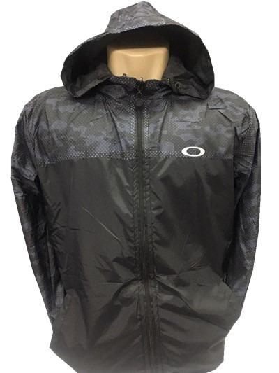 Jaqueta Oakley Para O Frio Com Capuz Corta Vento Homem Blusa - R ... 957320f1f5