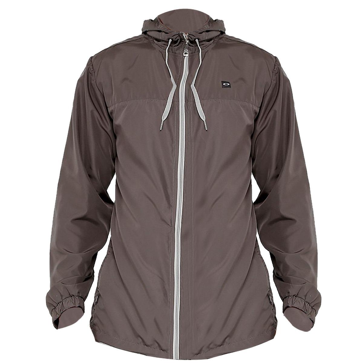 Jaqueta Oakley Windbreaker Patch Jacket Cinza - R  299,90 em Mercado ... 166be9c6cc
