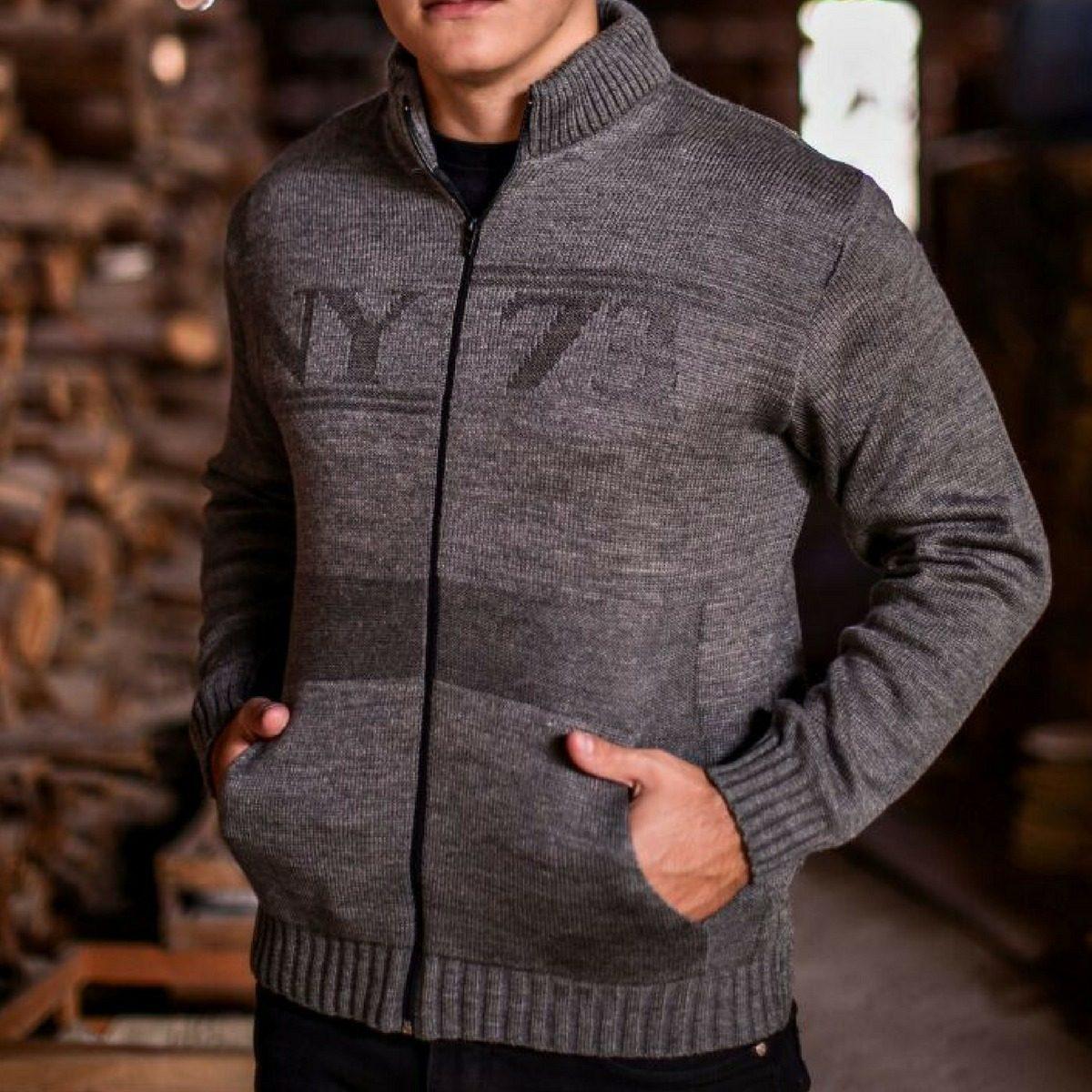 1ffe1810af jaqueta puffer masculina blusa de frio masculina de tricot. Carregando zoom.