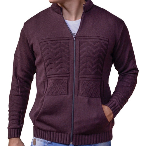 jaqueta pulôver masculina de luxo sueter masculino de trico