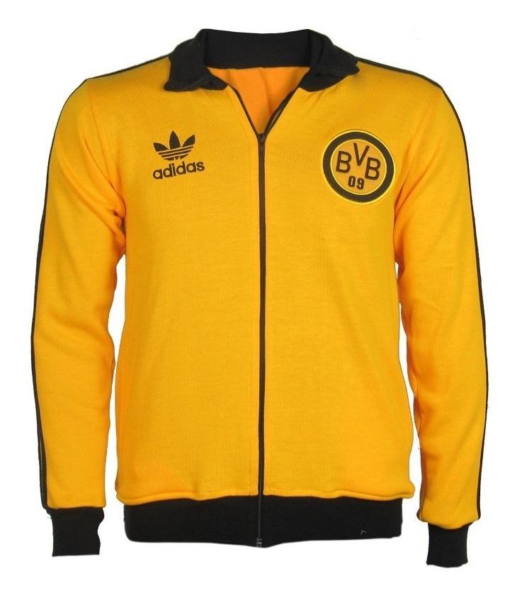 bdc27ac4bc980f Jaqueta Retrô Borussia Dortmund Logo - R$ 179,90 em Mercado Livre