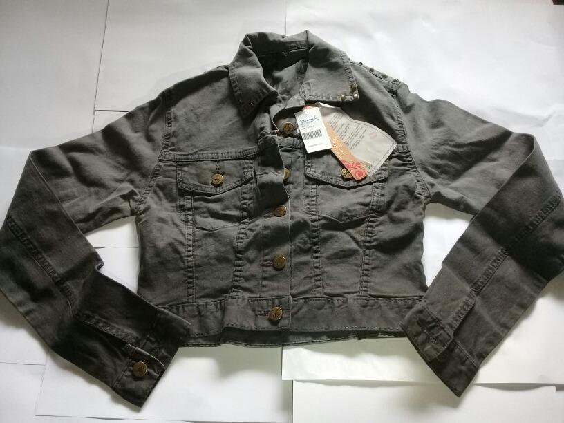 58607cd00 jaqueta revanche jeans cor unica. Carregando zoom.